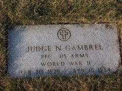 Judge N Gambrel