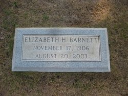 """Elizabeth Hope """"Libba"""" Barnett"""