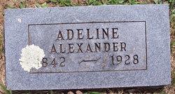 "Salvana Adeline ""Adeline"" <I>Morris</I> Alexander"
