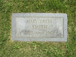 """Mary Ellen """"May"""" <I>Gress</I> Smith"""