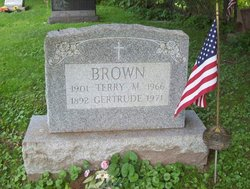 Gertrude <I>Benson</I> Brown