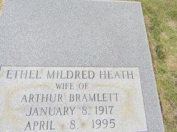 Ethel Mildred <I>Heath</I> Bramlett