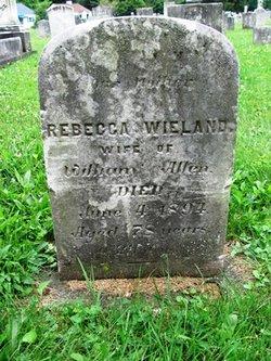 Rebecca <I>Wieland</I> Allen