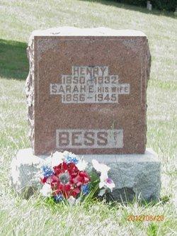 Sarah Elizabeth <I>Elmore</I> Bess