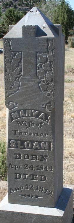 Mary Ann <I>Lindsay</I> Sloan