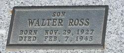 Walter Willimore Ross