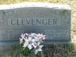 June <I>Denton</I> Clevenger
