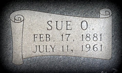 """Sue Olive """"Sudie"""" <I>Criswell</I> Henry"""