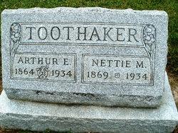 Nettie Melissa <I>Shaffer</I> Toothaker