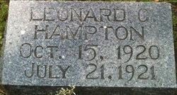 Leonard G Hampton