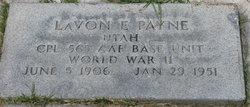 Lavon Edward Payne