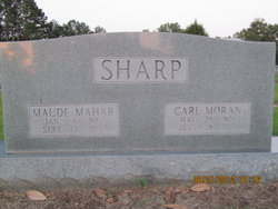 Maude <I>Mahar</I> Sharp