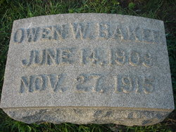 Owen Winfield Baker