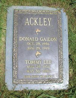Donald Gailon Ackley