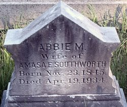 Abbie M <I>Dorman</I> Southworth