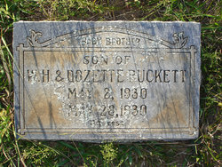 Infant Son Puckett