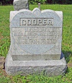 Comfort <I>Massie</I> Cooper