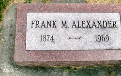 Dr Frank McGinley Alexander