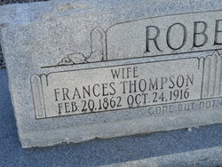 Charlotte Frances <I>Thompson</I> Roberts