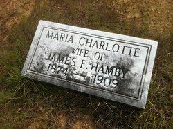 Maria Charlotte <I>Goins</I> Hamby