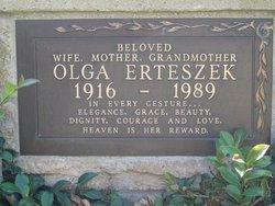 Olga <I>Bertram</I> Erteszek