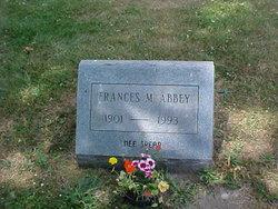 Frances M. <I>Spear</I> Abbey