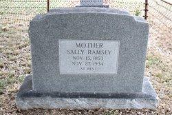 Sarah Sally <I>Formby</I> Ramsey