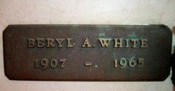 Beryl A White