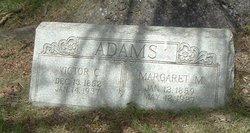 "Margaret Adaline ""Maggie"" <I>Morrison</I> Adams"
