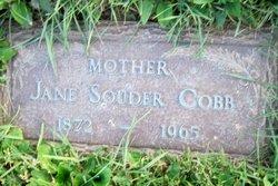 Jane <I>Souder</I> Cobb