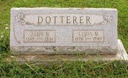 Lydia M <I>Sterner</I> Dotterer
