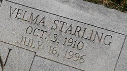 Velma <I>Starling</I> Shannon