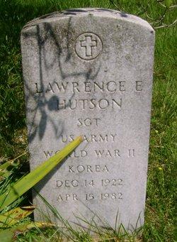Lawrence E Hutson