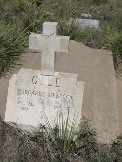 Margaret Rebecca <I>Carter</I> Gill