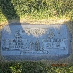 Annie L. <I>Nielsen</I> Woodruff