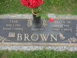 Mary Evelyn <I>Haney</I> Brown