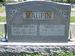 John Henry Maupin