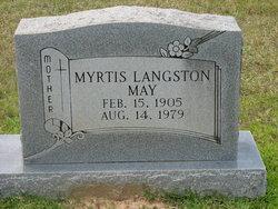Myrtis <I>Langston</I> Turner