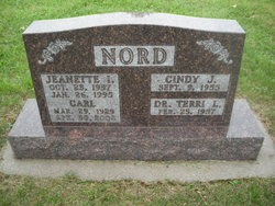 Jeanette Ida <I>Brooks</I> Nord