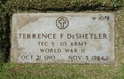 Terrence F Deshetler