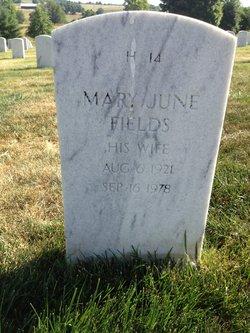 Mary June Fields