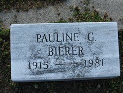 Pauline <I>Gower</I> Bierer