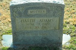 Hattie <I>Hamby</I> Adams