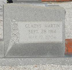 Gladys <I>Martin</I> Brannon