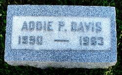 Addie P. <I>Swain</I> Davis