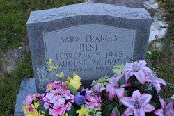 Sara Frances Best