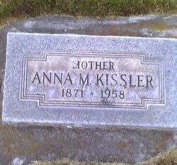 """Anna Marie """"Mary"""" <I>Lesser</I> Kissler"""