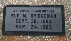 "Mary Susan ""Sue"" <I>Shepherd</I> Bridgeman"