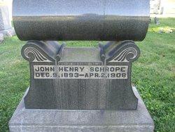 John Henry Schrope