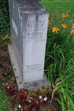 Barbara <I>Geiger</I> Hirsch